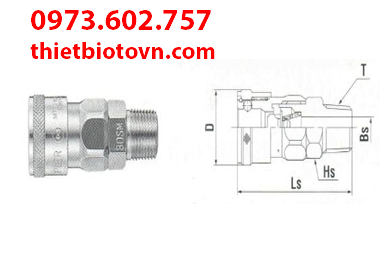 Khớp Nối Nitto 800SM